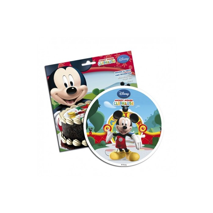 Disco comestible Mickey 16 cm Dekora