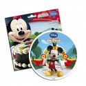 Disco comestible Mickey 16 cm - Dekora