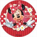 Disco comestible Minnie 16 cm - Dekora