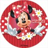 Disco comestible Minnie 16 cm Dekora
