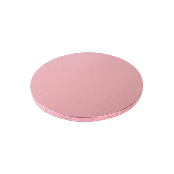 Cake Drum / Base redonda 30 cm 12 mm Rosa - Funcakes