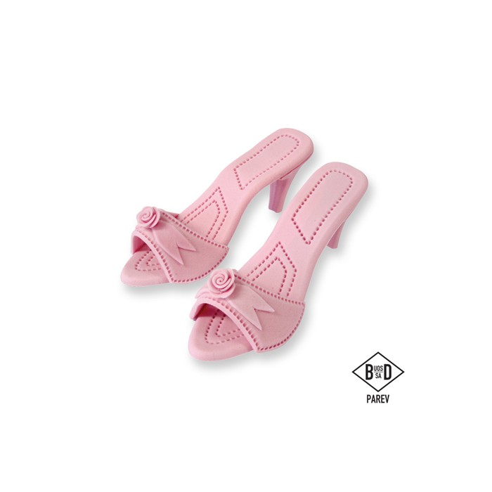 Cake Topper Zapatos de Mujer - Rosa, 2 ud. - PME