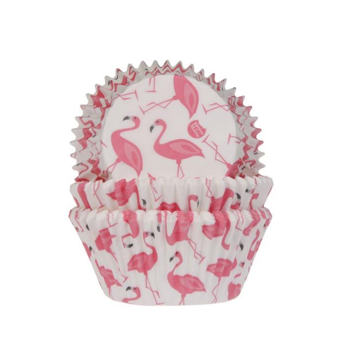 Cápsulas para Hornear Flamingo, 50u. - House of Marie