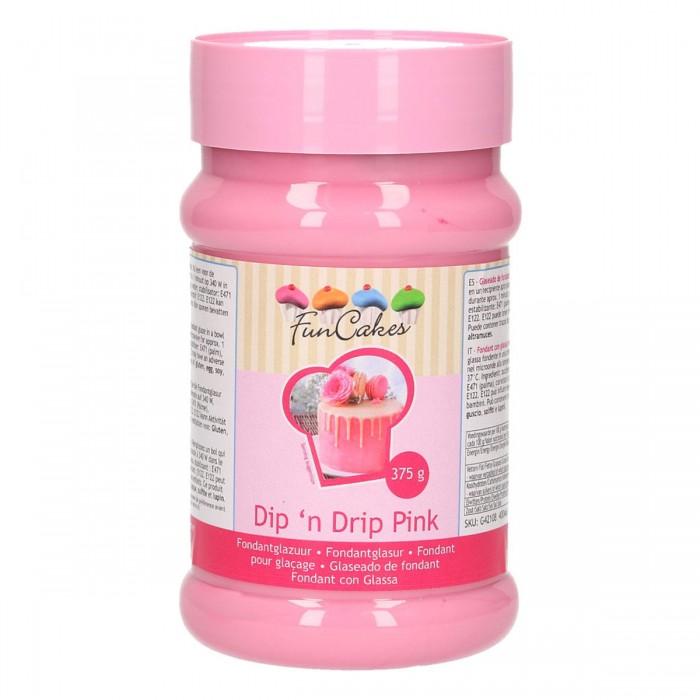 Glaseado rosa Dip Funcakes