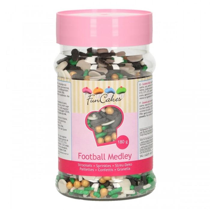 Sprinkles Mix Fútbol Funcakes