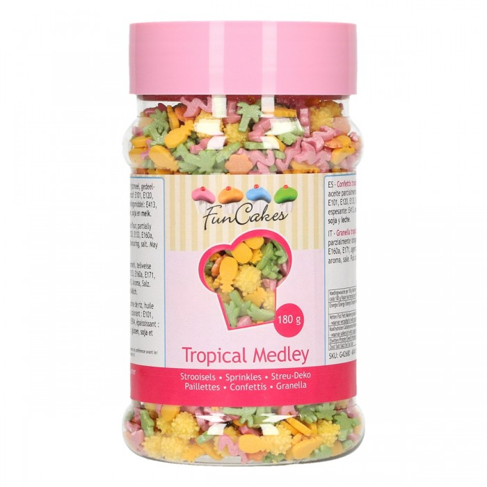 Sprinkles Mix Tropical Funcakes