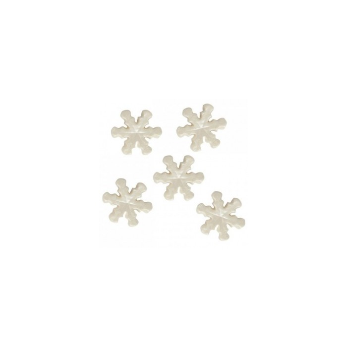 Copos de nieve de azúcar perlados - Funcakes