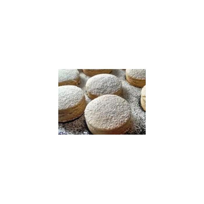 Polvorones artesanos S/gluten-huevo-lactosa