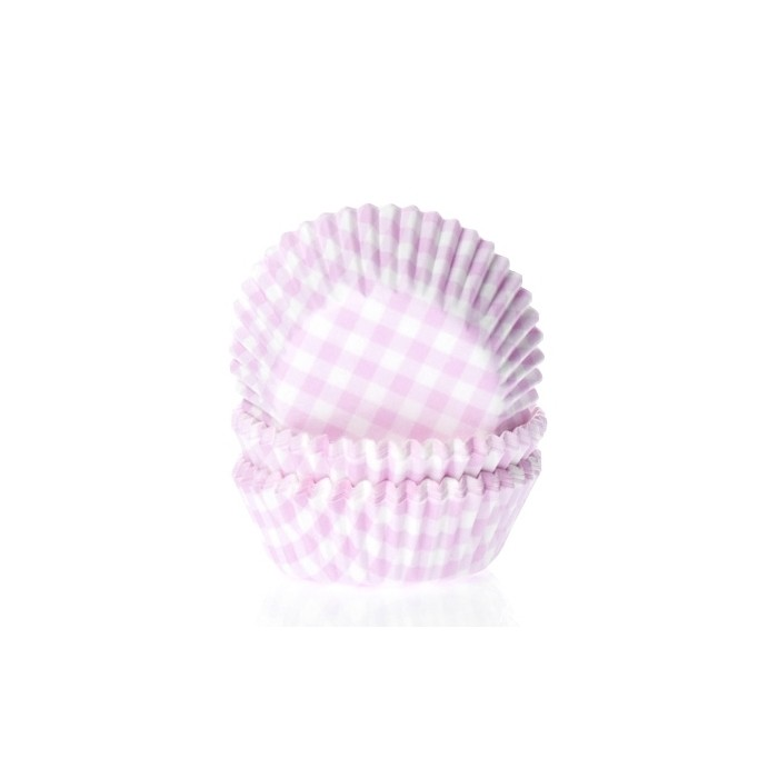 Cápsulas vichy Rosa Gingham (50) - House of Marie