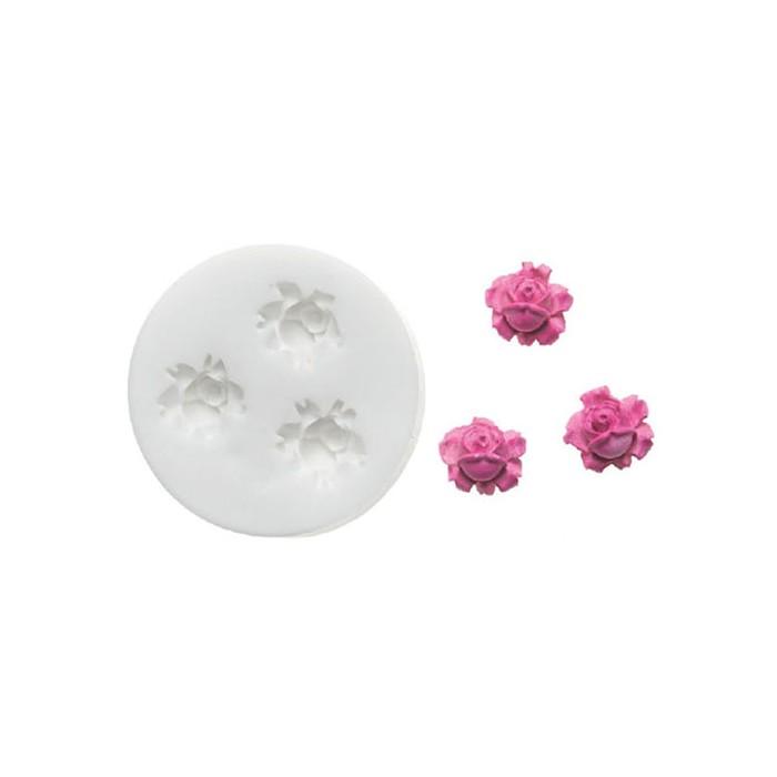 Molde pequeñas rosas Silikomart