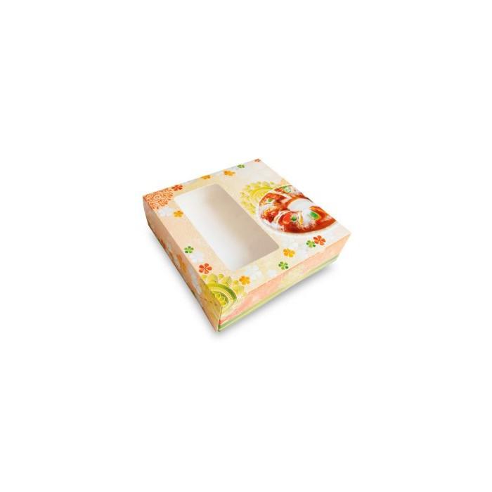 Caja para roscón de reyes 26x26x8