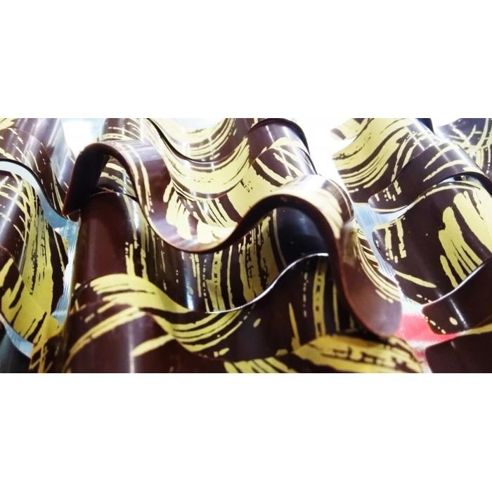 Río de chocolate y oro