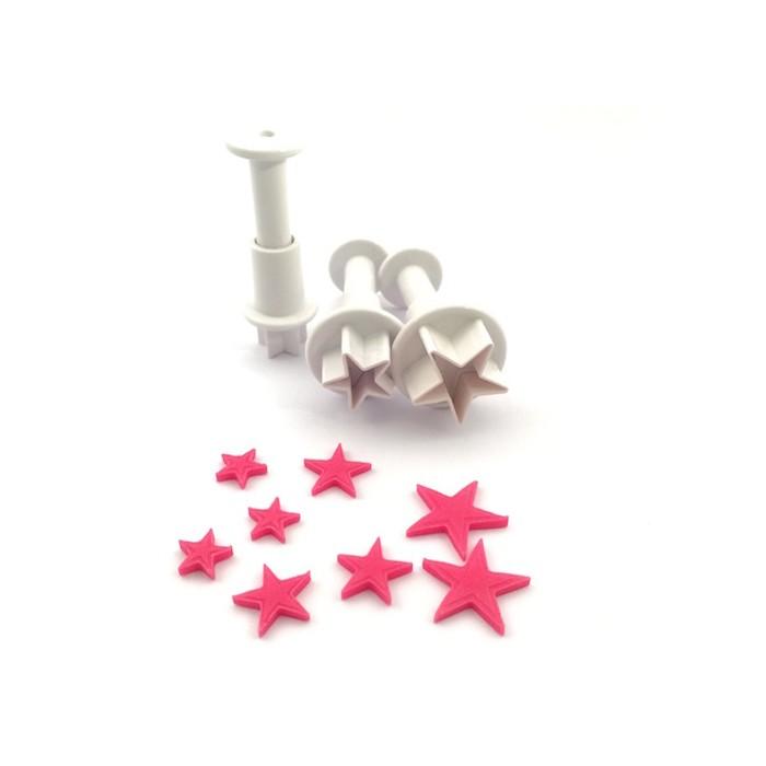 Set mini cortadores estrella