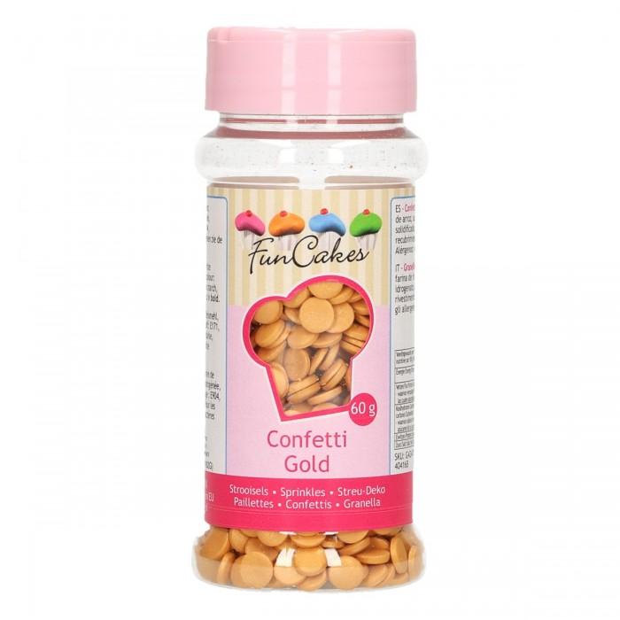 Confetti Oro Funcakes