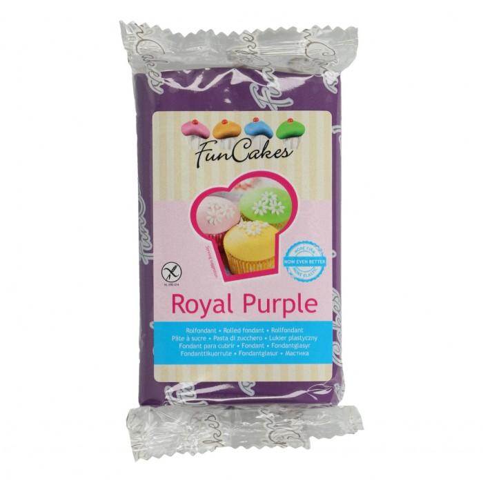 Fondant púrpura Funcakes 250 g