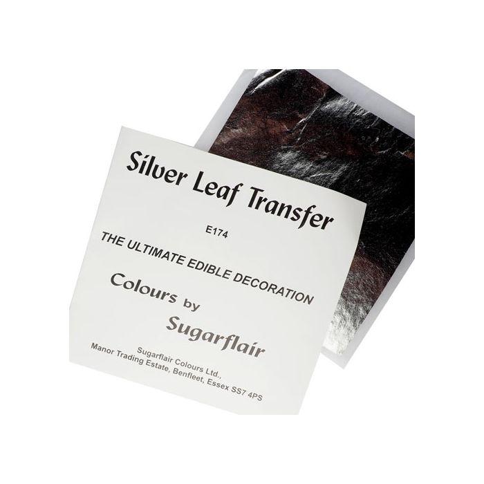 Lámina de plata Sugarflair