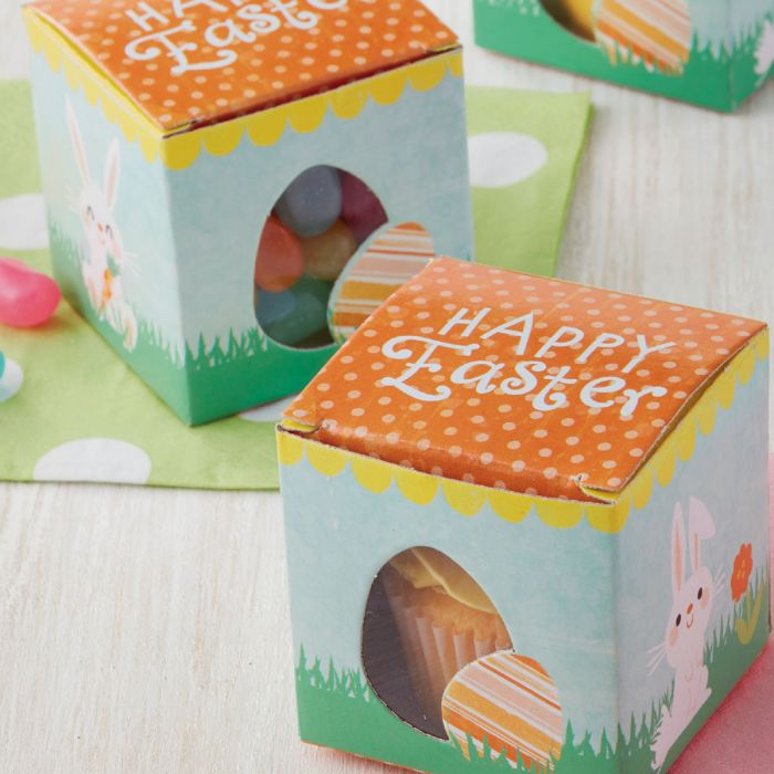 Mini Cajas Huevo Pascua, 10u. - Wilton