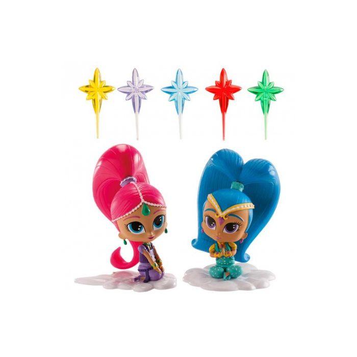 Figura Shimmer y Shine Dekora (1 unidad)