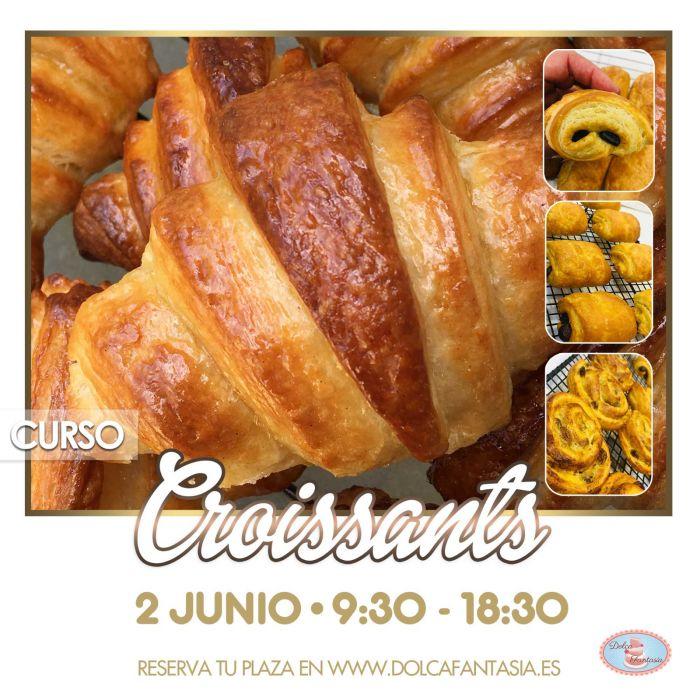 Curso/taller elaboración de Croissants