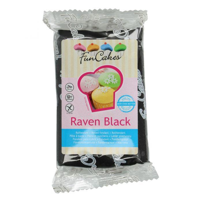 Fondant Negro 250 g - Funcakes
