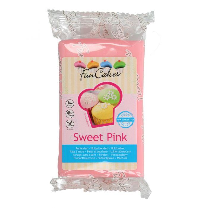 Fondant rosa 250 g - Funcakes