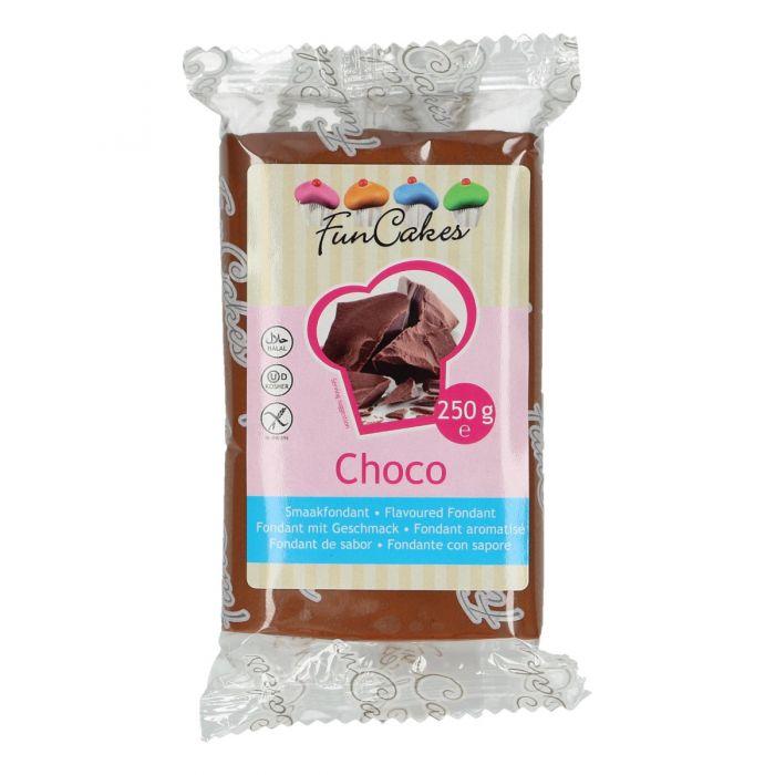 Fondant chocolate 250 g - Funcakes
