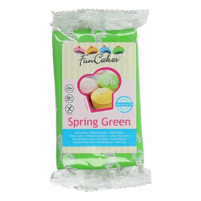 Fondant verde 250 g - Funcakes