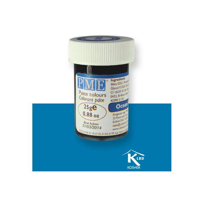 Colorante en Pasta azul marino 25g. - PME