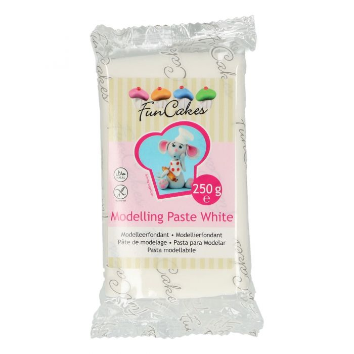 Pasta de modelar blanca - Funcakes