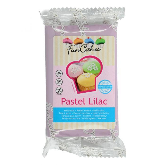 Fondant lila pastel 250 g - Funcakes