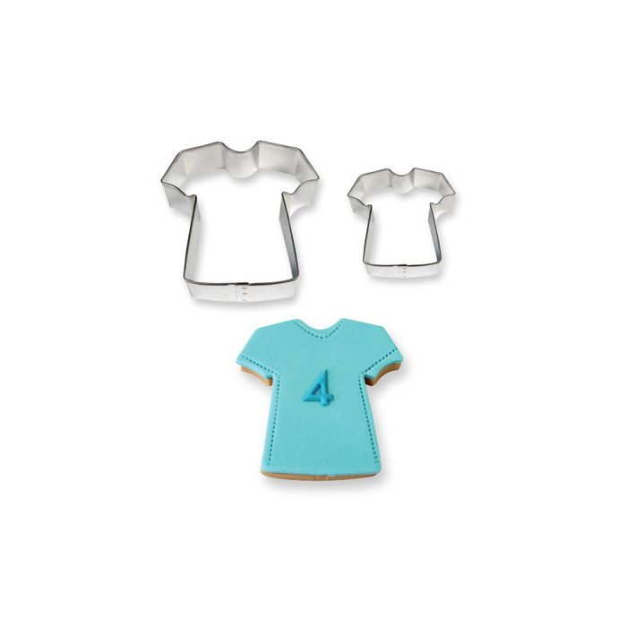 Set de 2 cortadores en forma de Camiseta