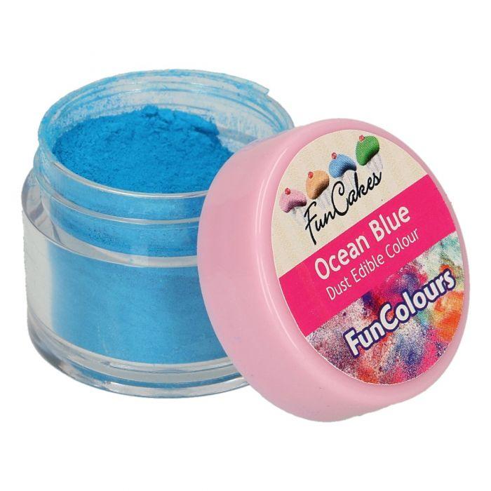 Colorante en polvo color azul oceano - Funcakes