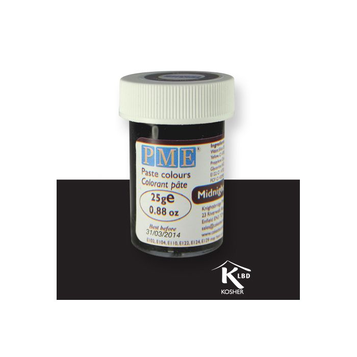 Colorante negro en pasta PME