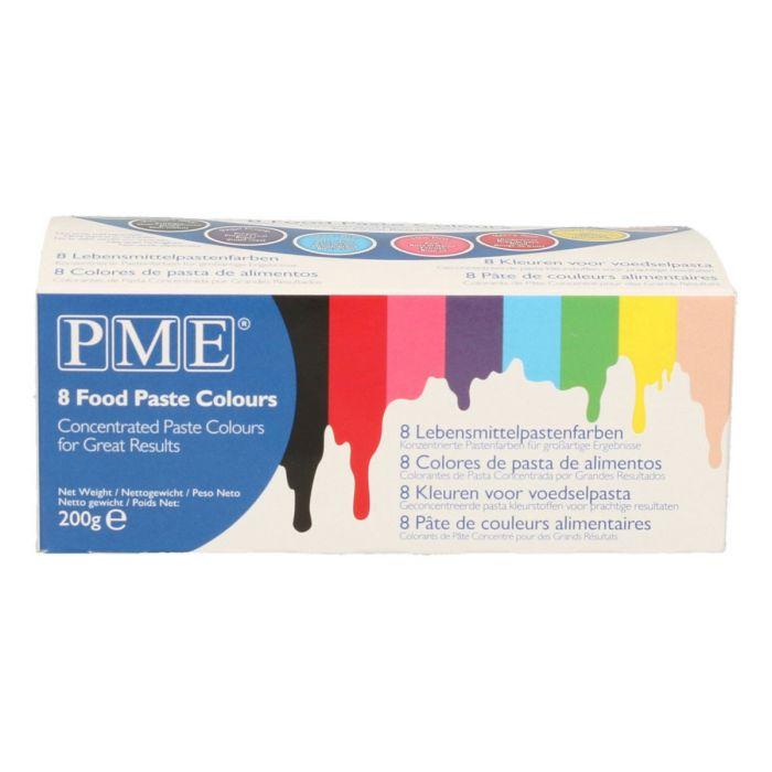 Colorantes en Pasta, Set 8 - PME