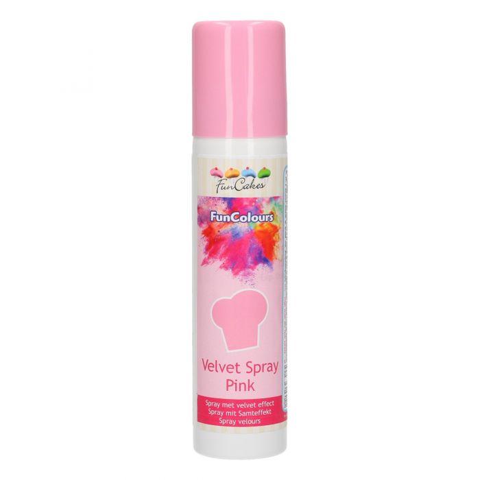 Spray Terciopelo Rosa Funcakes