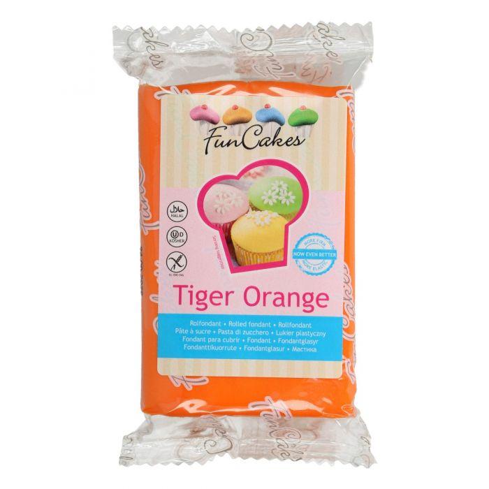 Fondant naranja 250 g - Funcakes