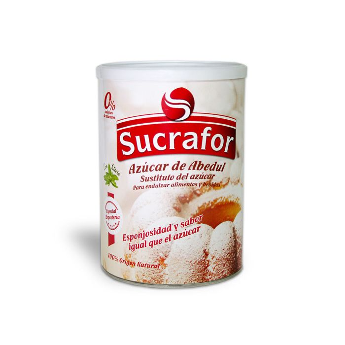 Azúcar de Abedul y Stevia Sucrafor - 500 g.