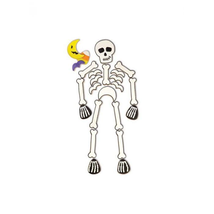 Set de 6 Cortadores en forma de Esqueleto - Wilton