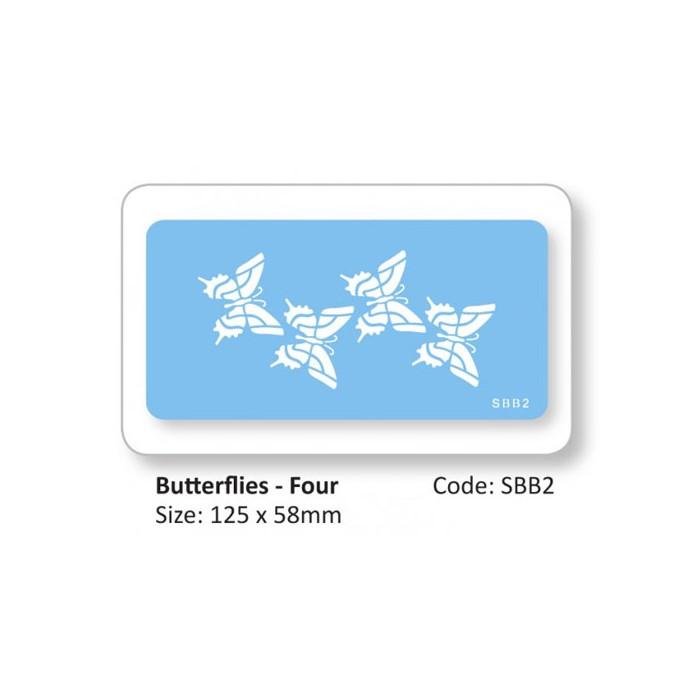 Stencil mariposas JEM
