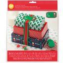 Set de 3 cajas para Dulces Santa Claus - Wilton