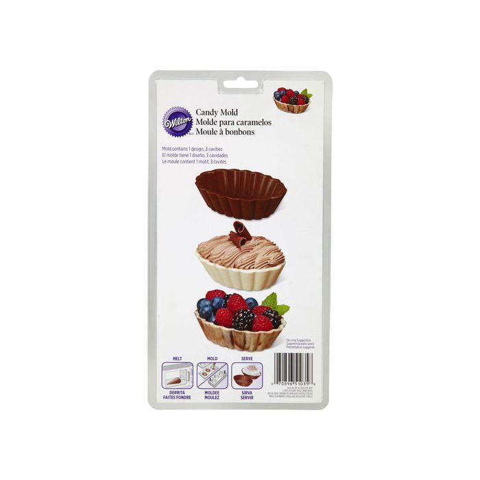 Molde para Conchas de chocolate - Wilton