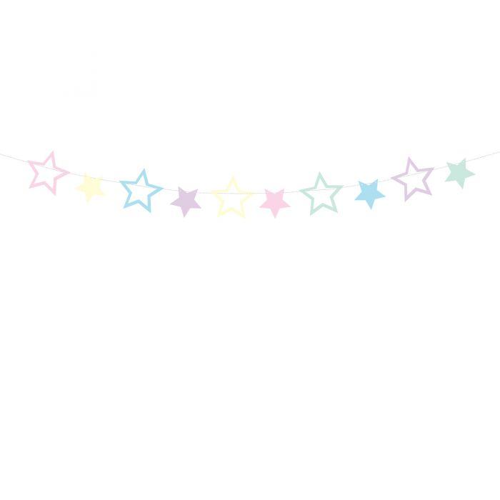 Guirnalda Estrellas Unicornio - PartyDeco