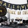 Guirnalda Halloween negra - PartyDeco