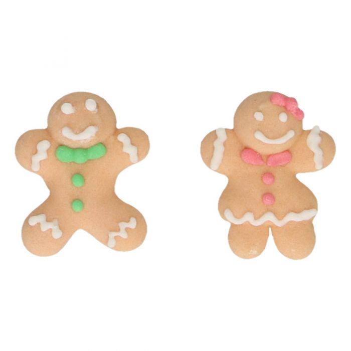 Set de 8 muñecos de jengibre de azúcar - FunCakes