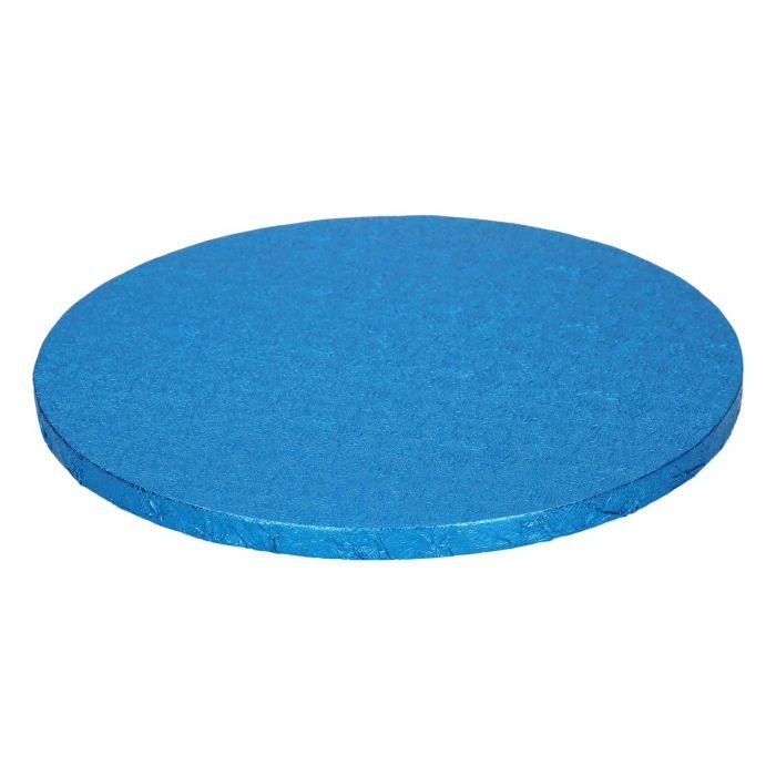 Cake Drum / Base Redonda 25 cm, 12 mm grosor Azul - Funcakes