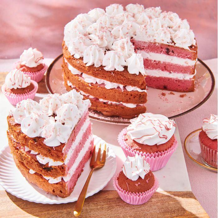 Preparado para Ruby Cake Special Edition 400 g. Funcakes