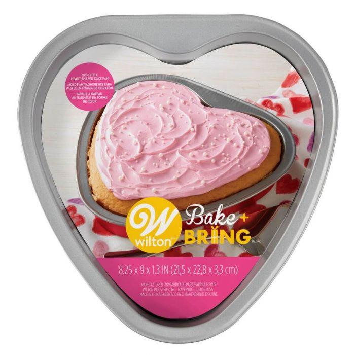 Molde para tartas Corazón Rojo Wilton