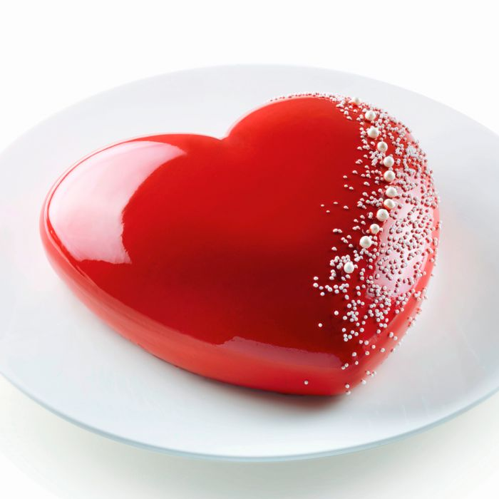 Molde Silicona Corazón 3D Batticuore Silikomart