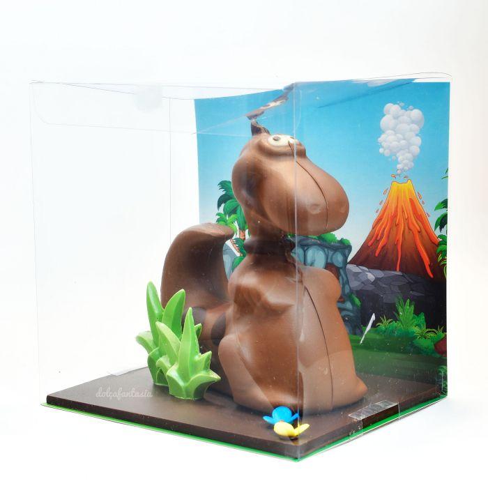 Mona chocolate Dino con fondo