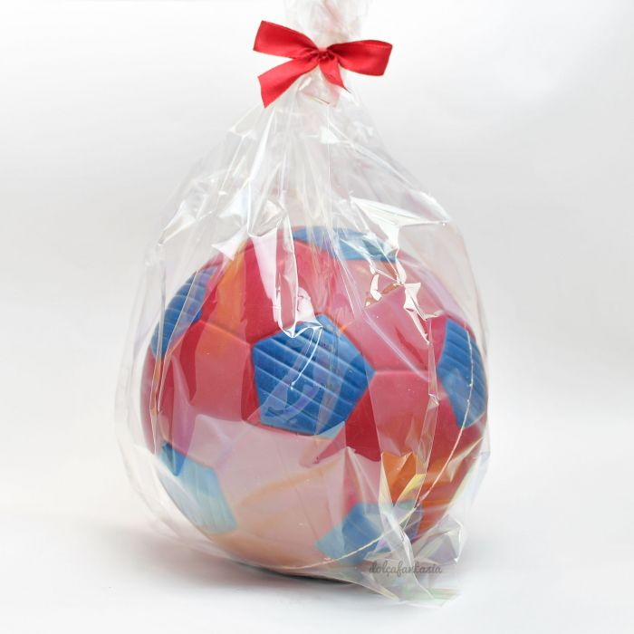 Balón futbol chocolate barça 500 grs. 18 cms ø